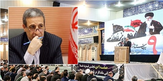 کج سلیقگی یا غیبت معنادار در مراسم 9 دی  بوشهر / آقای استاندار؛ لطفا به صف مردم بپیوندید
