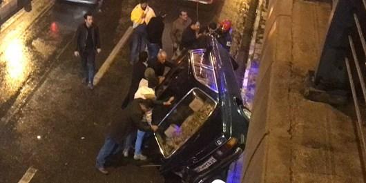 سانحه واژگونی شب گذشته خودرو «بنز» خسارت جانی نداشت/ فوت 32 نفر در سوانح رانندگی گرگان از ابتدای سال جاری