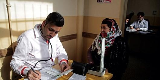 خدماترسانی گروه جهادی علوم پزشکی شیراز به روستاهای محروم نیریز