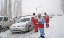 امدادرسانی به 3700 مسافر زمستانی گرفتار در برف و کولاک در کرمانشاه