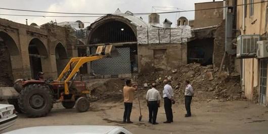 ماجرای تخریب یا تعمیر کاروانسرای شامی زنجان