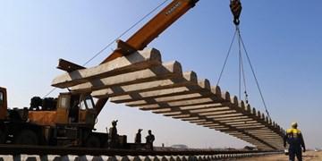 آغاز عملیات اجرایی قطعه یک راهآهن بستان آباد-سراب با حضور رئیس مجلس