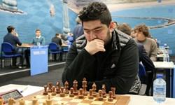 شطرنج جام پایتخت| مصدق پور باخت، قائم مقامى برد، مقصودلو صدرنشین ماند