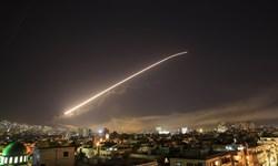 سانا:پدافند سوریه با  اهداف متخاصم در حریم هوایی دمشق مقابله کرد