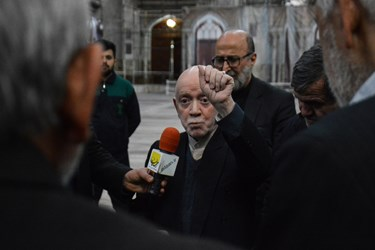 تجدید میثاق اعضای شورای مرکزی حزب مؤتلفه اسلامی با امام راحل(ره)