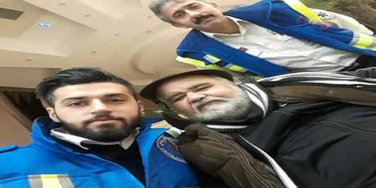 نجات اکبر عبدی در آمل+عکس