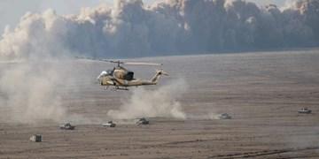 رزمایش اقتدار ۹۹ نیروی زمینی ارتش آغاز شد