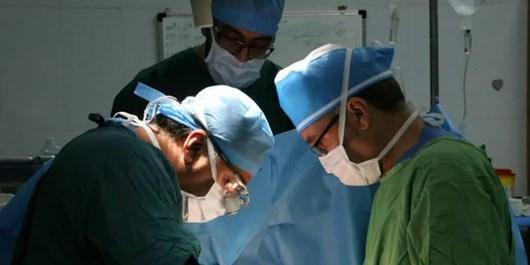 خروج تومور 5سانتی از قلب یک بیمار در فسا