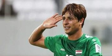مهاجم رقیب ایران کرونا را شکست داد