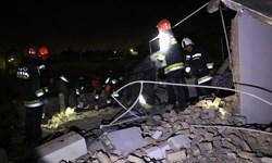 انفجار منزل مسکونی در خیابان آیتالله غفاری اصفهان