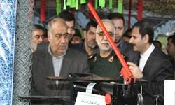نمایشگاه دستاوردهای انقلاب اسلامی در استان کرمانشاه افتتاح شد