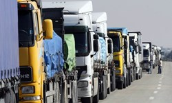 اعزام روزانه بیش از 100 دستگاه کامیون از همدان به بندر امام