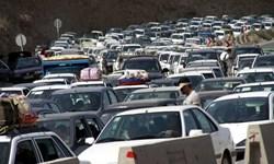 ترافیک فوقسنگین در محورهای هراز و فیروزکوه/ انسداد مسیر از ساعت ۲۴