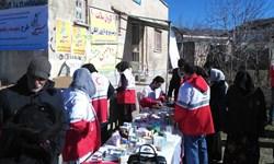 خدماترسانی ماماها در کاروان سلامت هلالاحمر رفسنجان