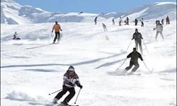 تجهیز پیست اسکی فریدونشهر به برفکوب