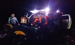 نجات جان 8 نفر از سیلاب توسط امدادگران هلالاحمر