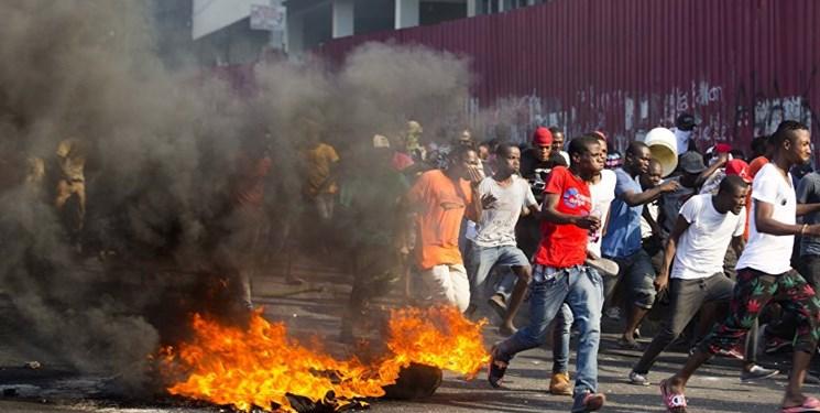 هیأت آمریکایی نرسیده به هائیتی مجبور به فرار شد