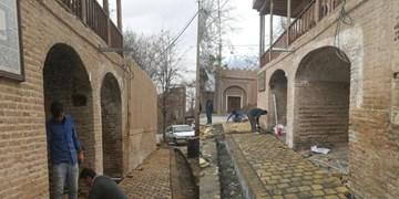اجرای مرحله سوم مرمت عمارت آقایان میامی