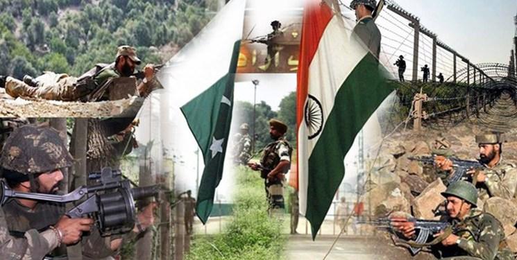 تشدید درگیریهای مرزی بین هند و پاکستان