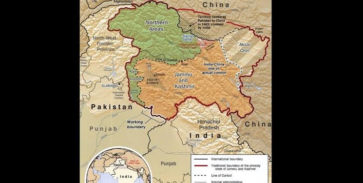 چین خواستار خویشتنداری پاکستان و هند در کشمیر شد