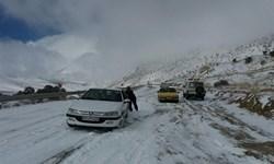 امدادرسانی به ۴۴۵ نفر گرفتار در برف و کولاک آذربایجانغربی