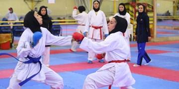 قهرمانی آذربایجانشرقی در مسابقات کاراته بانوان کشور سبک شیدوکان درمراغه