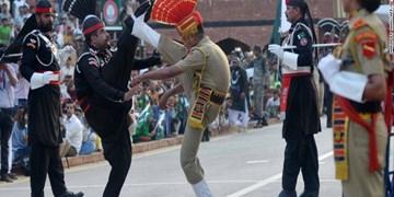 رقابت جالب هند و پاکستان در نقطه صفر مرزی