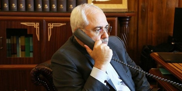 ظریف تلفنی با دبیرکل جهاد اسلامی فلسطین گفتگو کرد
