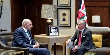 دیدار رئیس پارلمان لبنان با شاه اردن