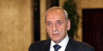 انتقاد رئیس پارلمان لبنان از دولت به دلیل عدم گفتوگو با سوریه