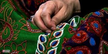 کارآفرینی بانوی رفسنجانی با هنر «پتهدوزی»