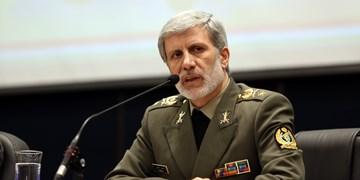 وزیر دفاع: برد و سرعت موشکهای ضدزره و پدافند هوایی افزایش مییابد