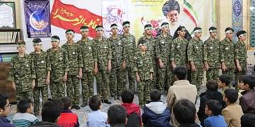 مراسم لیله الرغائب در جوار شهدای گمنام ترک آباد اردکان برگزار شد