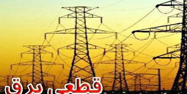 قطعی برق در برخی مناطق شهر سمنان