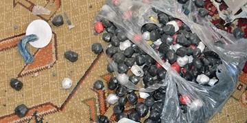 کشف ۱.۵ میلیون عدد مواد محترقه در آذربایجانشرقی / متلاشی شدن ۲ کارگاه تولید مواد محترقه خطرناک