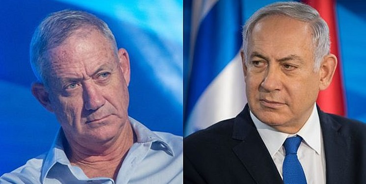 انتقاد نتانیاهو از گانتز به دلیل حمایت از انحلال کنست