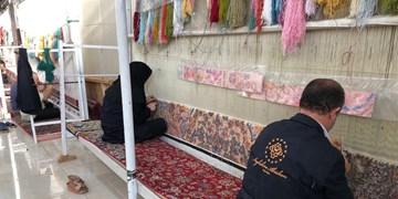 درآمد ۲۶ میلیارد ریالی مددجویان خراسانجنوبی از بافت فرش