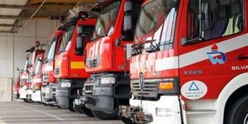 آتشسوزی در کارگاه و انبار ۶۰۰ متری در لاله زار