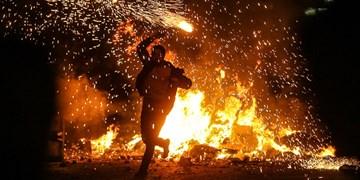 آمادهباش ۲۲۰ آتشنشان کرمانشاه در شب چهارشنبه آخر سال