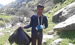 پاکسازی بهشت گمشده جنوب ایران توسط جوانان/ منطقه موگرمون آماده پذیرایی از گردشگران نوروزی