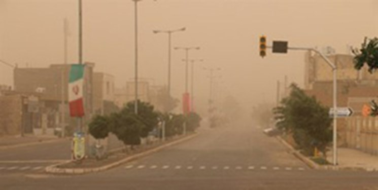وزش باد نسبتا شدید در شهرهای شمالی سیستان و بلوچستان