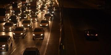 ترافیک سنگین در محور هراز