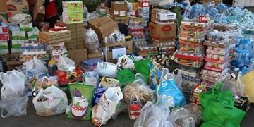 توزیع بیش از یکهزار بسته ارزاق بین نیازمندان سمنان