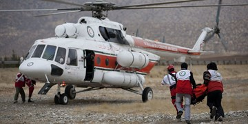 اعزام بالگرد اطفاء حریق هلال احمر به جنگلهای ارسباران