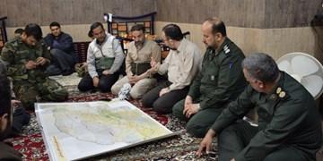 قرارگاه سازندگی سپاه در مناطق سیلزده گنبدکاووس راهاندازی شد+ تصاویر