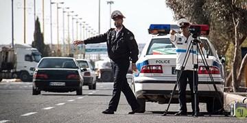 اعمال قانون بیش از 300 خودرو متخلف در طرح فاصله گذاری اجتماعی