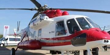 پرواز اورژانس هوایی برای نجات کارگر آسیبدیده در اشتهارد