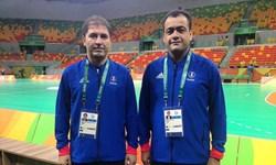 چهارمين قضاوت داور تبریزی در مسابقات هندبال باشگاههاي آسيا