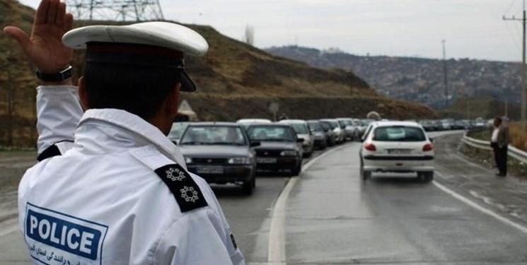 توضیحات پلیس راهور در خصوص تردد در روزهای 21 و 22 فروردین
