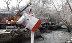 عمليات تخريب و رفع تصرفات بستر رودخانه زشک در شانديز